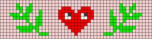 Alpha pattern #106527
