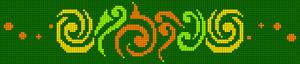 Alpha pattern #106570