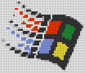 Alpha pattern #106587