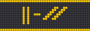 Alpha pattern #106593