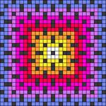 Alpha pattern #106625