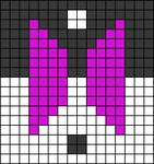 Alpha pattern #106676