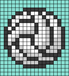 Alpha pattern #106689
