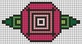 Alpha pattern #106709