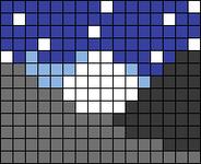 Alpha pattern #106724