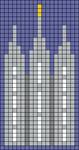 Alpha pattern #106876