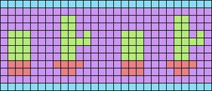 Alpha pattern #106896