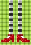Alpha pattern #106956
