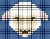 Alpha pattern #106975