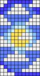 Alpha pattern #106995