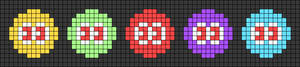 Alpha pattern #107051