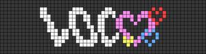 Alpha pattern #107057