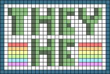 Alpha pattern #107104