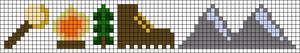 Alpha pattern #107109