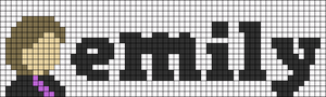 Alpha pattern #107187