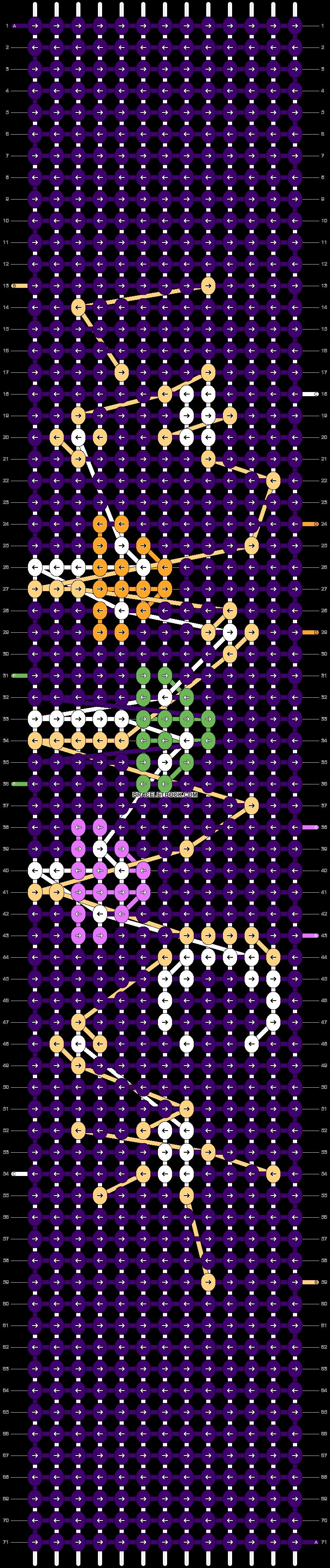 Alpha pattern #107208 pattern