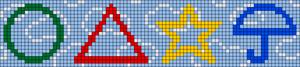 Alpha pattern #107241