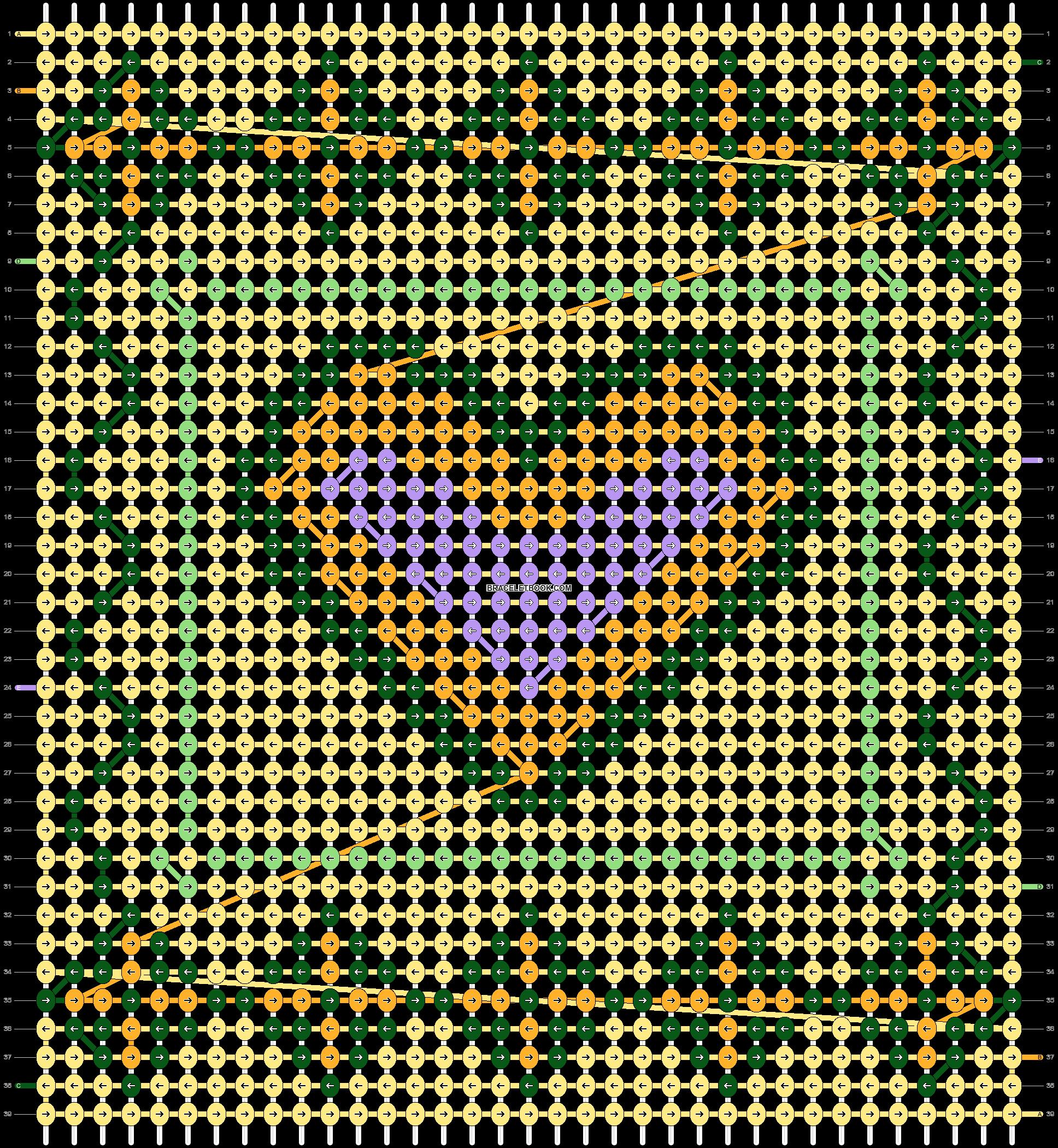 Alpha pattern #107288 pattern