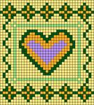 Alpha pattern #107288
