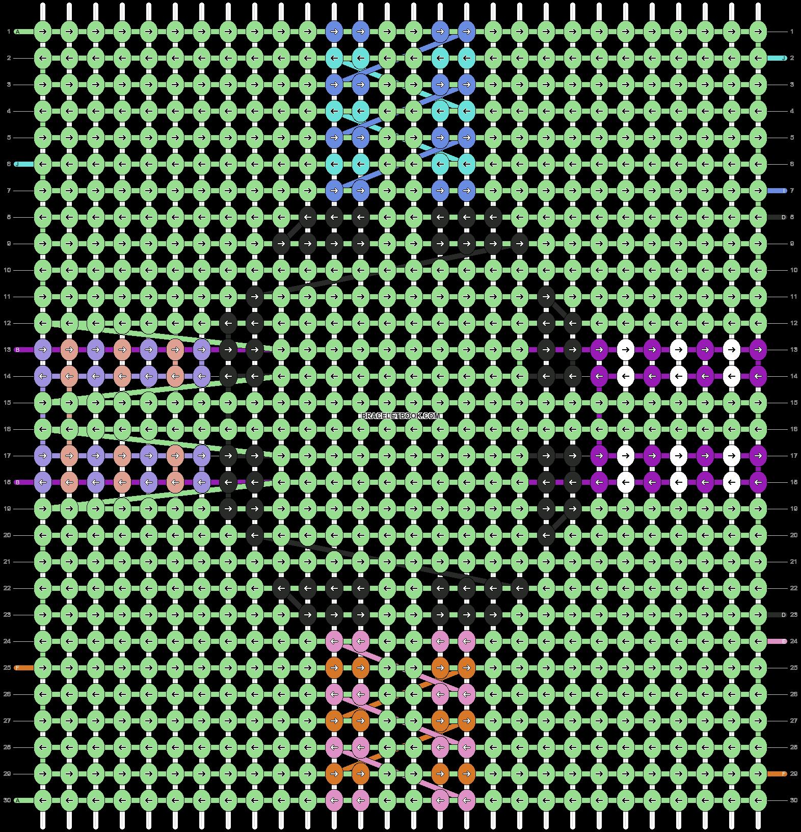 Alpha pattern #107303 pattern