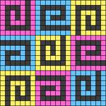 Alpha pattern #107341