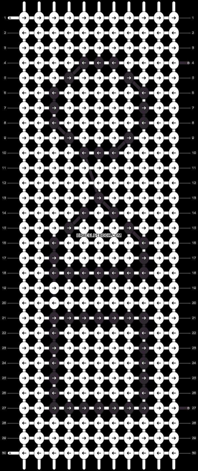 Alpha pattern #107350 pattern