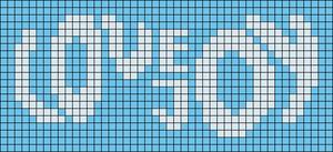 Alpha pattern #107406