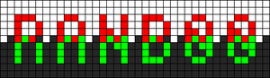 Alpha pattern #107576