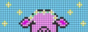 Alpha pattern #107591
