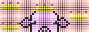 Alpha pattern #107693