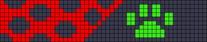 Alpha pattern #107694
