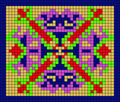 Alpha pattern #107748