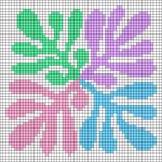 Alpha pattern #107763