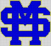 Alpha pattern #107955