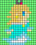 Alpha pattern #107974