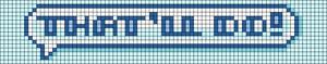 Alpha pattern #108142