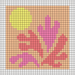 Alpha pattern #108167