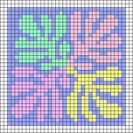 Alpha pattern #108267