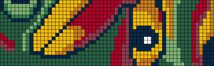 Alpha pattern #108668