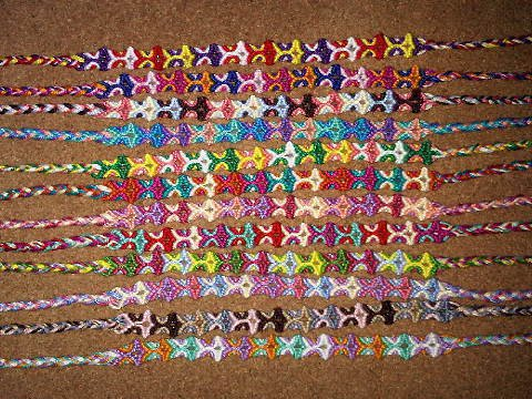 Totem Pole Friendship Bracelet