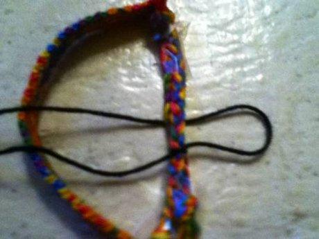 How to make an adjustable bracelet ending! - 5.
