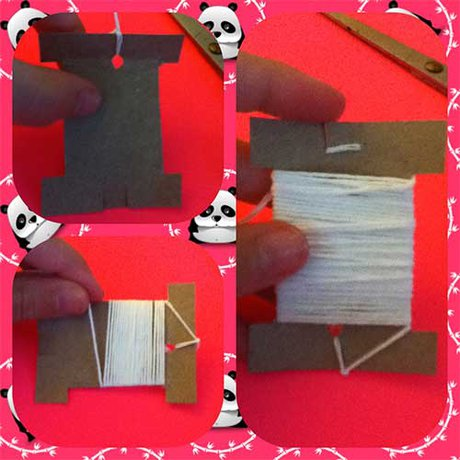 How to make your own bobbins - STEP FIVE