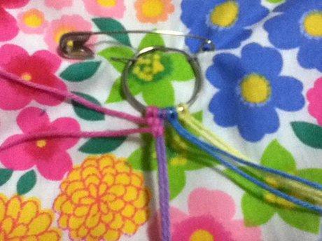 Bracelet that uses less string