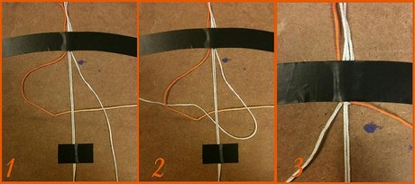 How to make a Double Button Buckle - Step 3
