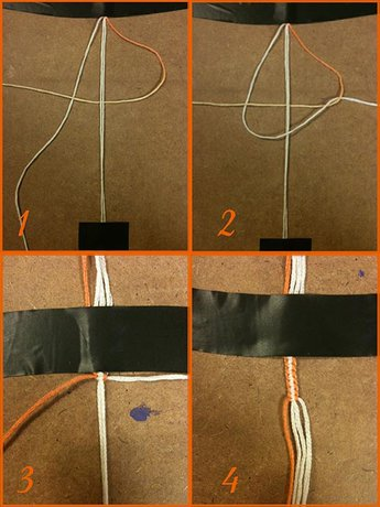 How to make a Double Button Buckle - Step 4