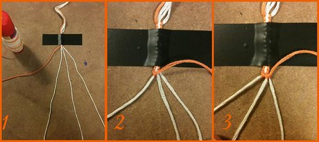 How to make a Double Button Buckle - Step 6