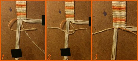 How to make a Double Button Buckle - Step 11