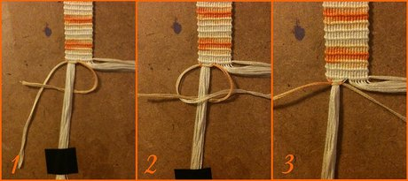 How to make a Double Button Buckle - Step 12