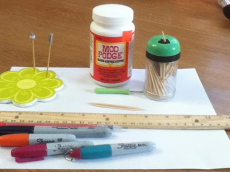 How to make paper beads - The flute bead - What you will need