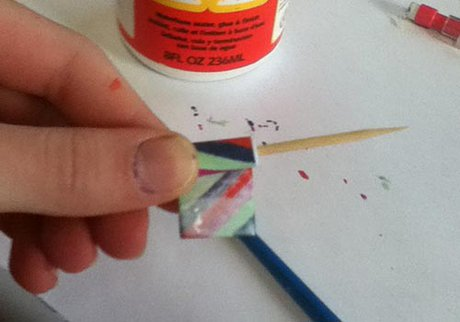 How to make paper beads - The flute bead - Step five